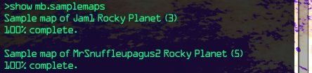Rocky Planet (5) at 100%